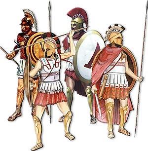 Древнегреческий пеший воин